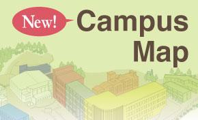 キャンパスマップ【New!】