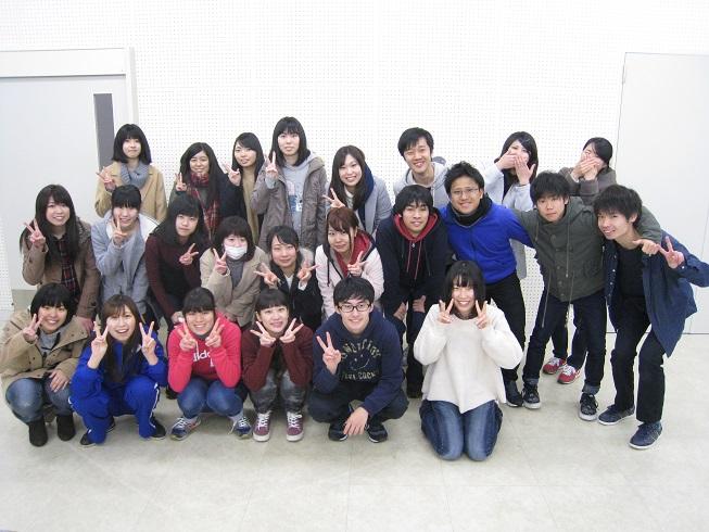 今回の企画を担当した学生24名