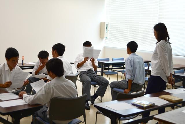 体験授業⑤